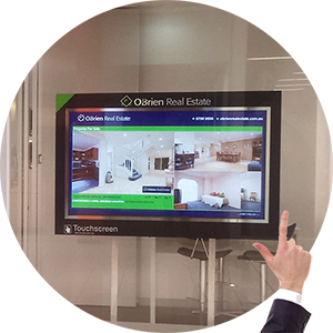 touchscreen product image